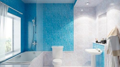 Ремонт ванной комнаты из пластиковых панелей