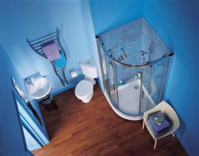 Дизайн интерьера ванной комнаты в