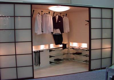 Как сделать гардеробную комнату самому