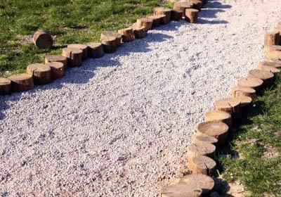 Ландшафтный дизайн дорожки из мягкого покрытия