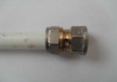 Металлопластиковая труба смонтирована