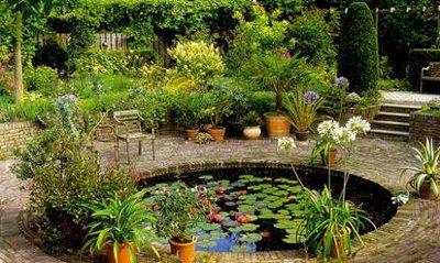 Ландшафтный дизайн водоема