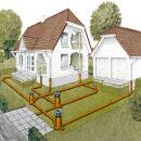 Монтаж наружной канализации для загородного дома