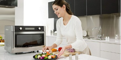 Как обставить кухню - Выбираем микроволновую печь