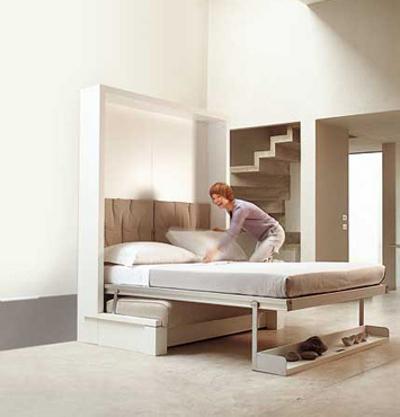Шкаф кровать в разобранном виде