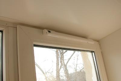 Климатический клапан для вентиляции пластиковых окон