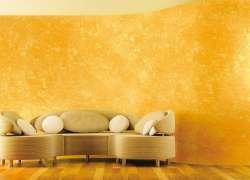 Декоративная штукатурка в дизайне стен